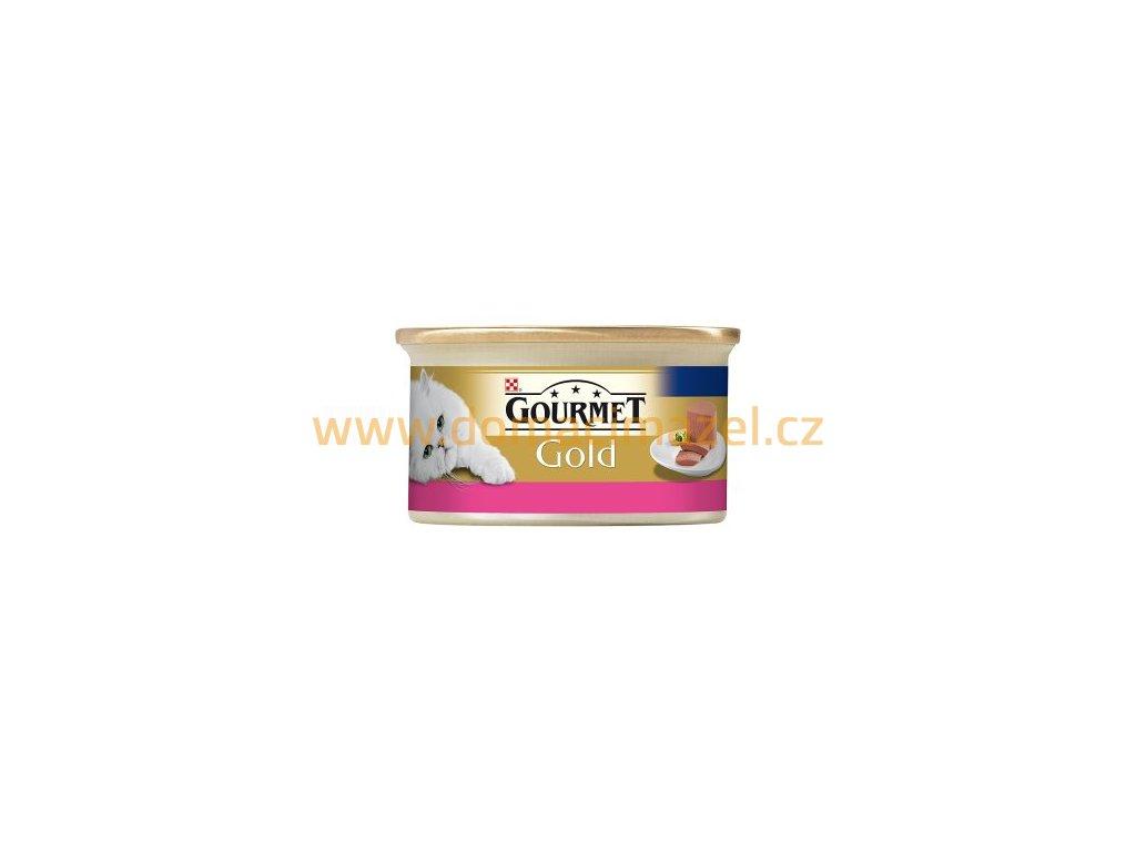 Gourmet gold paštika hovězí cat - 85 g