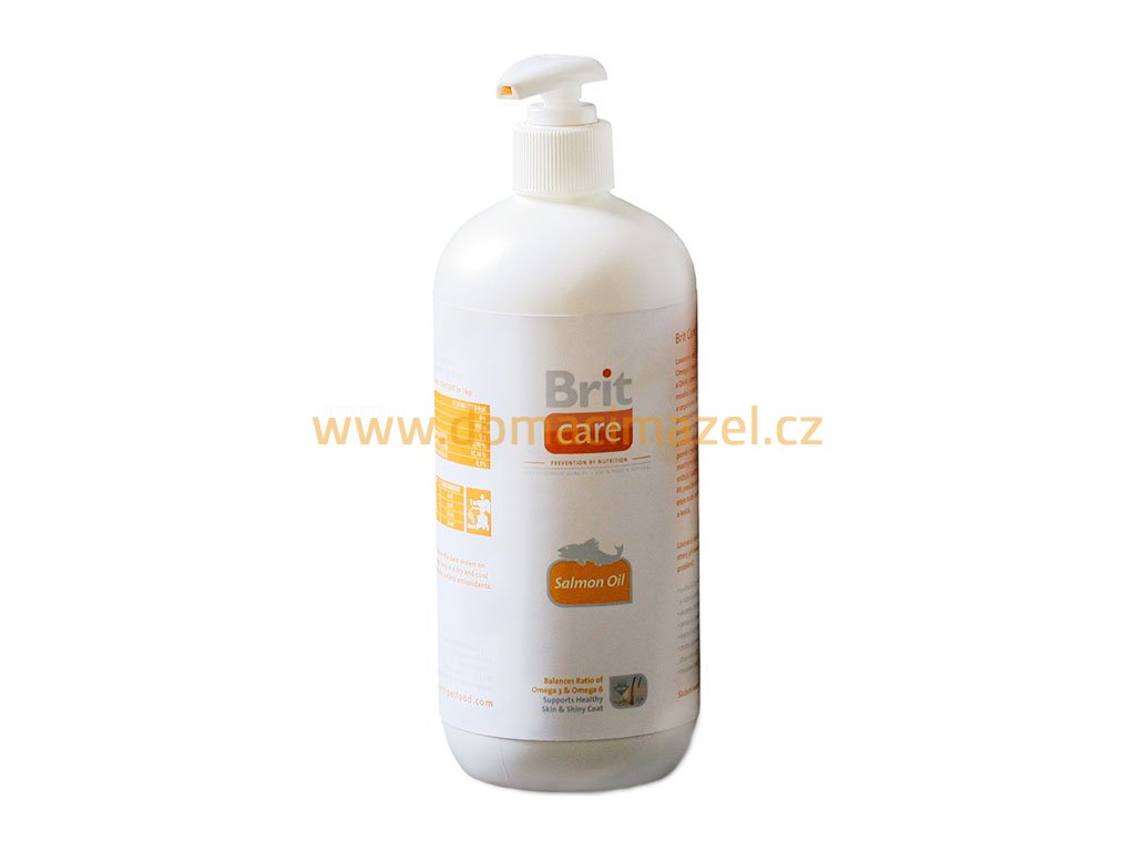 brit care salmon oil lososovy olej 1000ml original domaci mazel