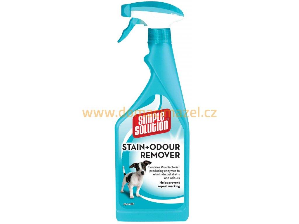 Stain & Odor Remover - odstraňovač skvrn a pachu pro psy, 750ml