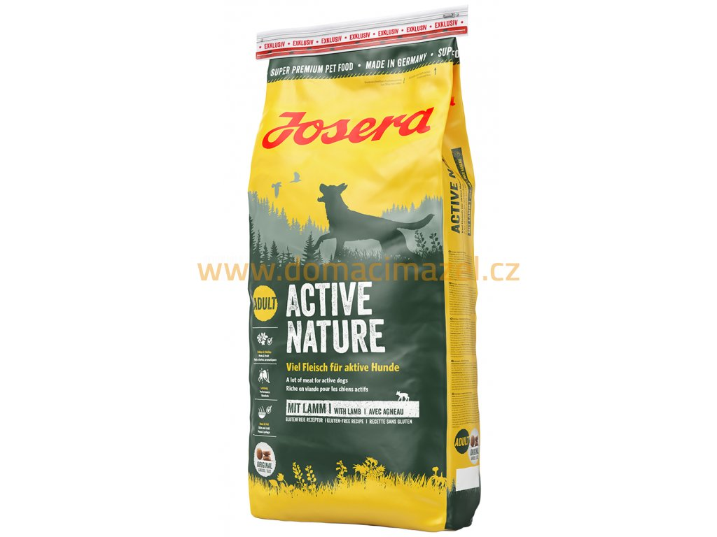 josera active nature domaci mazel