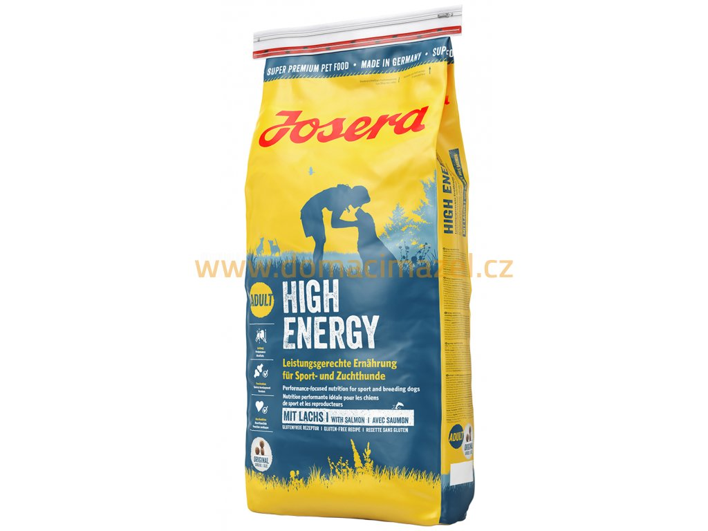 josera dog food high energy