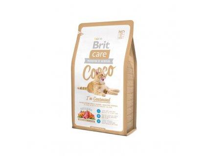 brit care cat cocco i m gourmand 2 kg