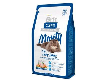 Brit Care Cat Monty I'm Living Indoor 2 kg