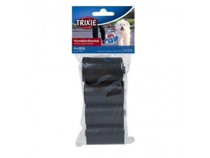Sáčky na exkrementy Trixie – sada 4x20 ks (černé)