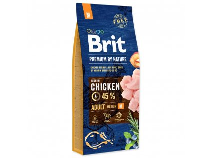 Brit Premium Dog by Nature Adult M