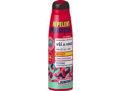 Predator Junior - Repelentní sprej při výskytu vší - 150 ml