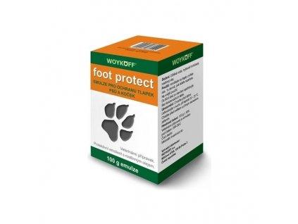 Foot protect ochranná emulze na tlapky - 100g