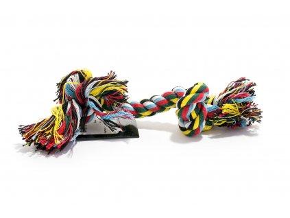 92093 bavlneny uzel barevny 23 cm domaci mazel 1