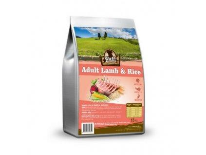 Wuff! Adult Lamb & Rice 15 kg