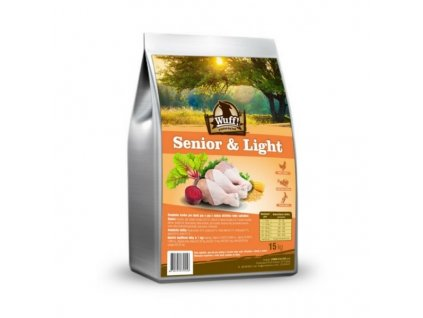 Wuff! Senior & Light 15 kg