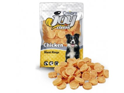 Calibra Joy Dog Classic Chicken Rings 80 g  Expirace 12. 11. 2020