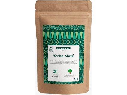 BrainMax Pure Organic Yerba Maté, 1000 g