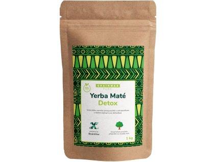 BrainMax Pure Organic Yerba Maté - Detox, 1000 g