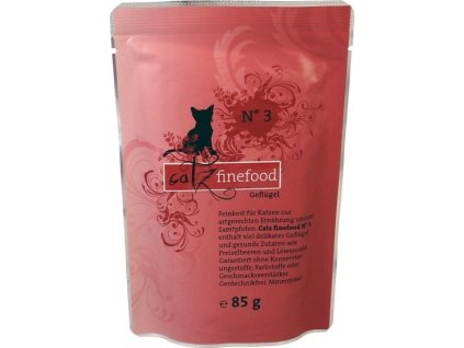 Catz finefood kapsička s drůbežím masem 85 g
