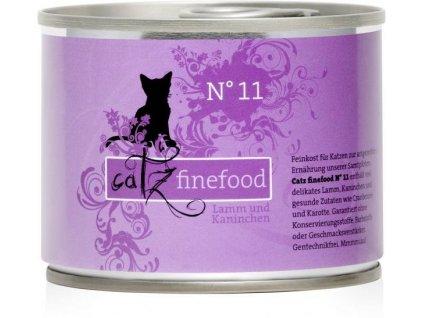 Catz FineFood konzerva s jehněčím a králičím masem - 200 g