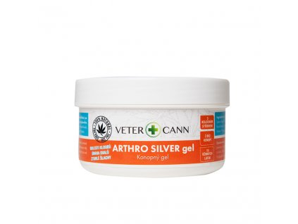 Vetercann Arthro Silver konopný gel 100 ml