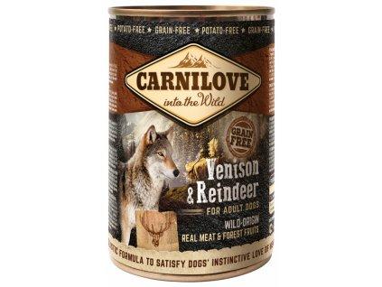 konzerva carnilove wild meat venison reindeer 400g default