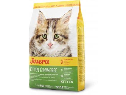 Kitten Grainfree seitlich 2kg 400g