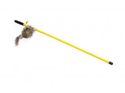 91920 proutek s myskou na gumicce 50 cm domaci mazel 1