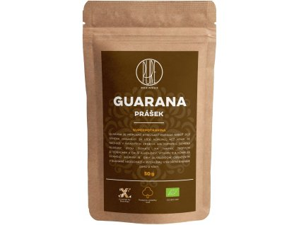 BrainMax Pure Guarana BIO prášek, 50 g