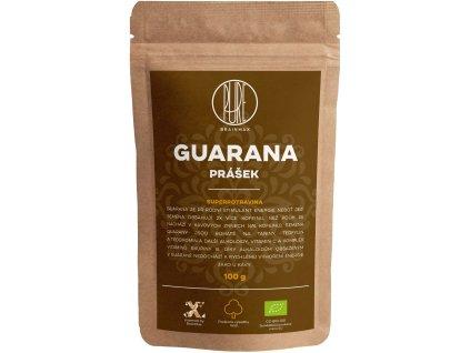 BrainMax Pure Guarana BIO prášek, 100 g