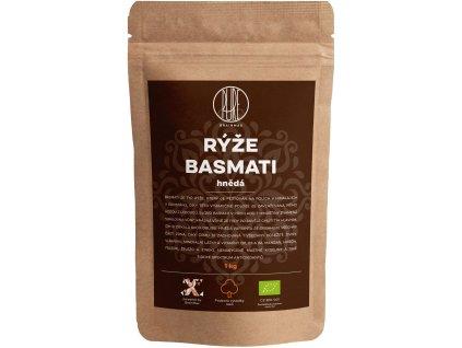 BrainMax Pure Rýže - hnědá, Basmati BIO, 1kg