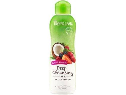 Tropiclean přírodní šampon Deep Cleansing - hluboce čistící 592ml