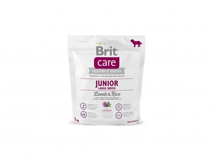 Brit Care Junior Large Breed Lamb & Rice 1lg