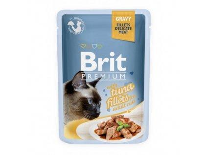 brit premium 85g cat kaps filety s tunakem ve stave 1ks 24ks 94