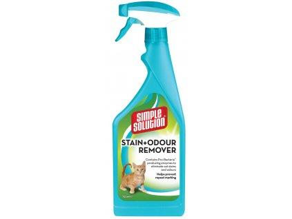 Stain & Odor Remover - odstraňovač skvrn a pachu pro kočky, 750ml