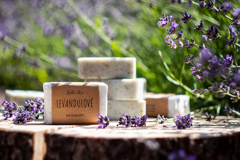 Přírodní levandulové mýdlo