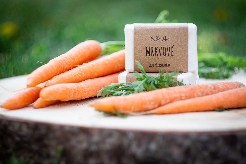 Přírodní mrkvové mýdlo