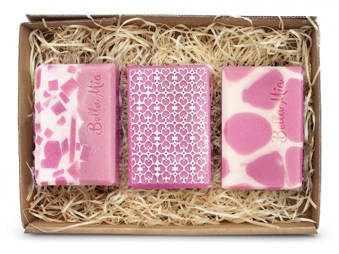 Krabička růžová