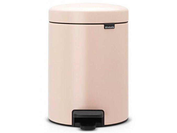 Pedálový koš NewIcon 5L růžová