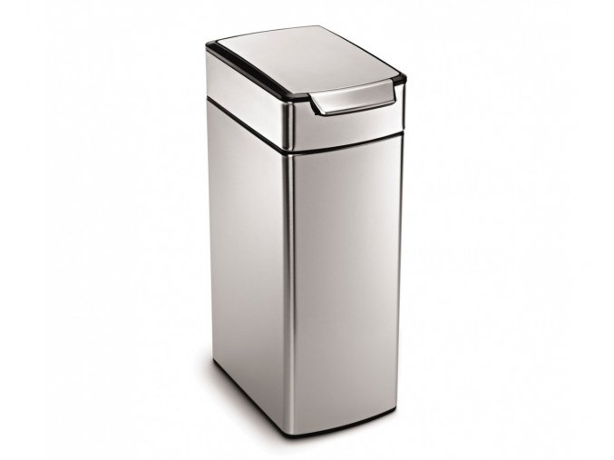 14972 dotykovy odpadkovy kos simplehuman 40 l uzky matna nerez ocel fpp