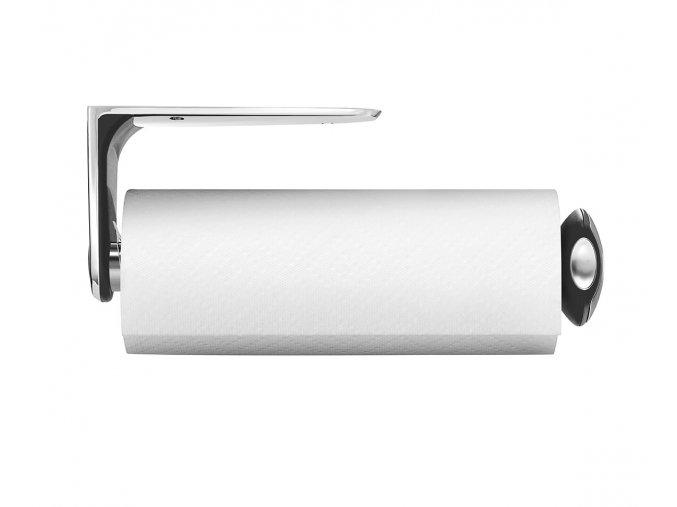 15140 drzak na kuchynske uterky na zed simplehuman pro role do 28 cm matna ocel