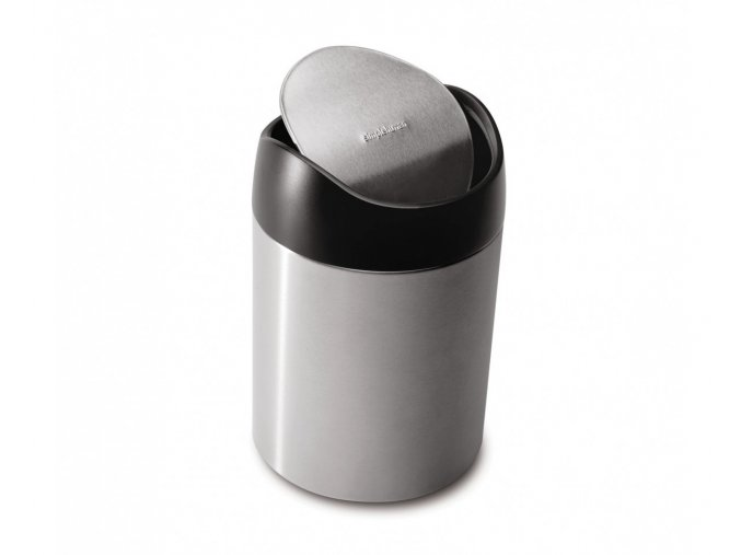 15149 odpadkovy kos na stul simplehuman 1 5 l matna ocel fpp