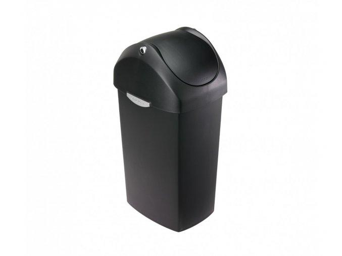 15053 odpadkovy kos simplehuman 40 l houpaci viko cerny plast