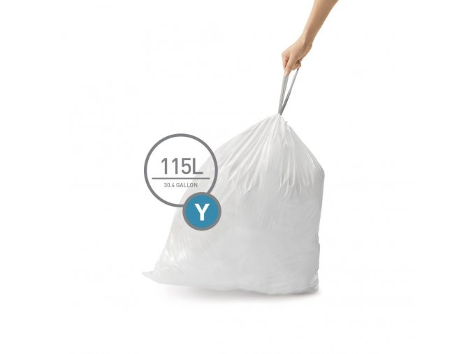 16301 sacky do odpadkoveho kose 115 l simplehuman typ y zatahovaci 200 ks sacku v baleni