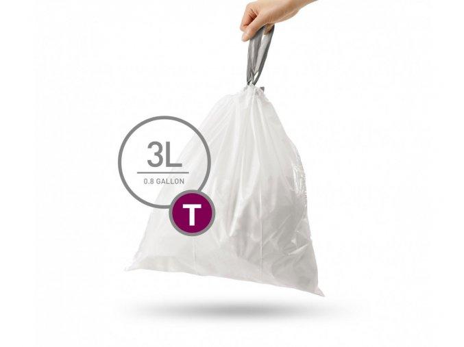 15116 sacky do odpadkoveho kose 3 l simplehuman typ t zatahovaci 40 ks v baleni