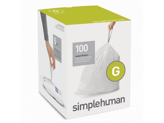 15122 sacky do odpadkoveho kose 30 l simplehuman typ g zatahovaci 5 x 20 ks 100 sacku