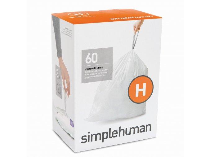 15518 sacky do odpadkoveho kose 30 35 l simplehuman typ h zatahovaci 3 x 20 ks 60 sacku wp