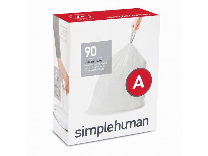 16325 sacky do odpadkoveho kose 4 5 l simplehuman typ a zatahovaci 3 x 30 ks 90 sacku