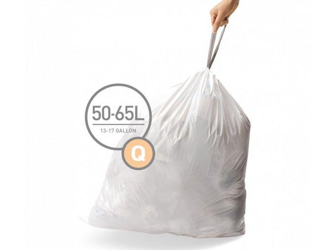 15110 sacky do odpadkoveho kose 50 65 l simplehuman typ q zatahovaci 20 ks v baleni