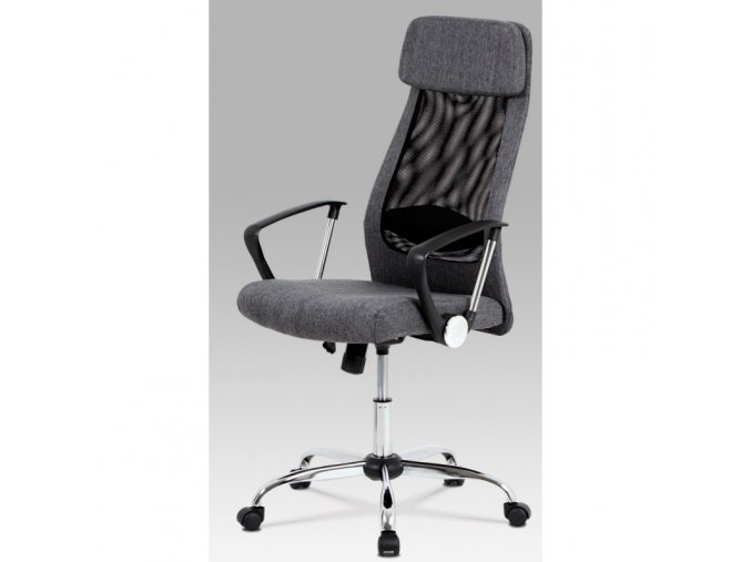 Kancelářská židle Autronic KA-E302 GREY šedá