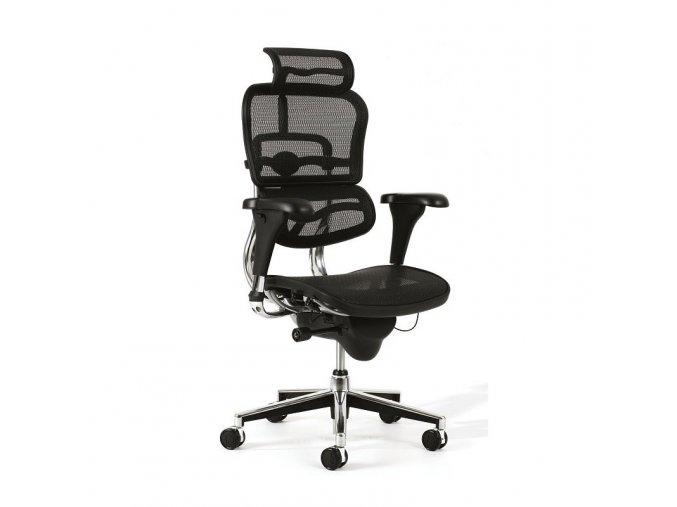 Kancelářská židle Antares ERGOHUMAN  + aku šroubovák