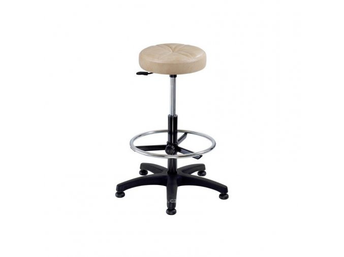 Pracovní židle Nora čalouněná kruh Alba