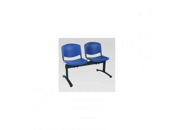 Dvoumístná lavice plast Alba