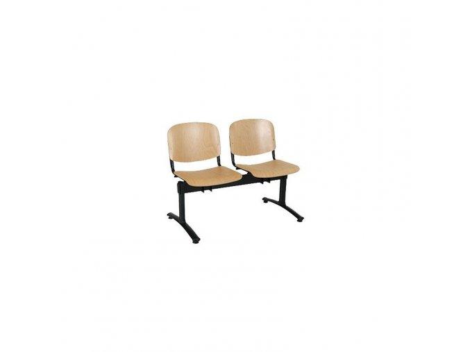 Dvoumístná lavice dřevo