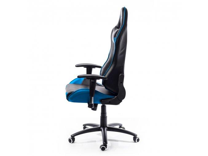 ADK kancelářská židle Runner modro-černá
